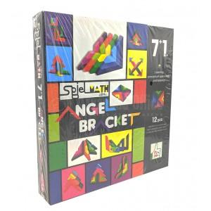 Jeu éducatif SPIEL MATH Angel Bracket 7+1 vol jeu de construction en bois 12 pcs  -  Advanced Office