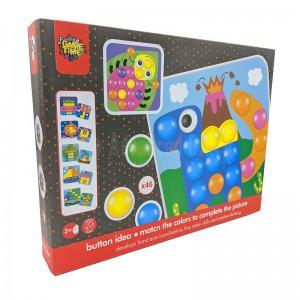 Jeux éducatif Button Idea 12 Photos Puzzle Game 24.3 x 24.3cm 42 pcs. pour enfant +3 ans  -  Advanced Office