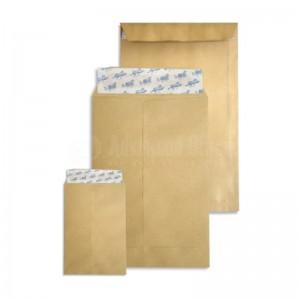 Boite de 250 enveloppes pochette F24 Kraft auto adhésive 260 x 330 mm
