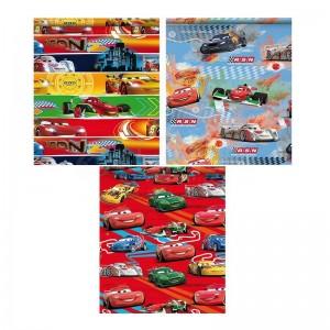 Papier cadeau HOOMARK motifs CARS 200 x 70 cm 60g/65g