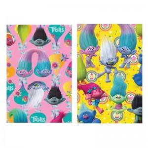 Papier cadeau HOOMARK motifs TROLLS 200 x 70 cm 60g/65g