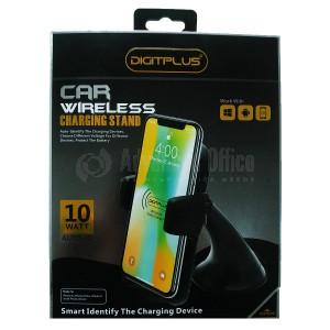 Support Auto chargeur sans fil DIGITPLUS DP-W07 QI 10W  -  Advanced Office
