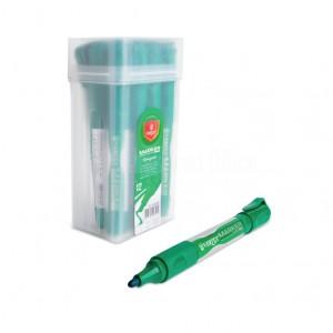 Marqueur rechargeable pour tableau blanc VERTEX Rond Vert  -  Advanced Office