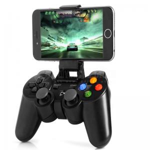 Manette de jeux sans fil N1-3017 Bluetooth 2.1 Rechargeable avec support Smartphone/ Tablette ajustable pour Android/ IOS/ Windows et console  -  Advanced Office