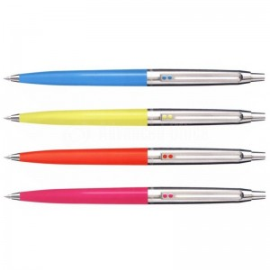 Stylo INOXCROM a bouton fiesta made in spain - Advanced office
