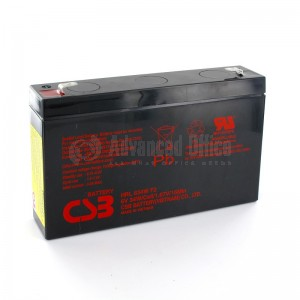 Batterie CSB pour onduleur 6V 7Ah 34W  -  Advanced Office