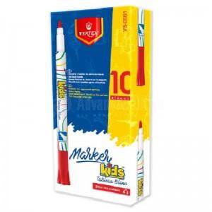 Marqueur pour tableau blanc VERTEX VS-0561 Kids Rouge  -  Advanced Office
