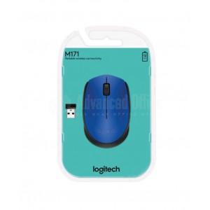 Souris optique sans fil LOGITECH M171 USB Bleu  -  Advanced Office