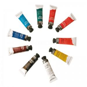 Peinture gouache PEBEO 678000. Boite de 10 tubes de 10ml