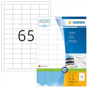 Rame autocollants HERMA 6500 étiquettes  -  Advanced Office