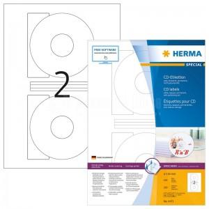 Rame autocollants CD HERMA 200 étiquettes  -  Advanced Office