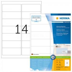 Rame autocollants HERMA 1400 étiquettes  -  Advanced Office