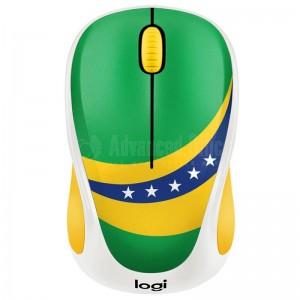 """Souris sans fil LOGITECH M238 """"Fan Collection"""" Brésil"""