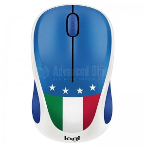 "Souris sans fil LOGITECH M238 ""Fan Collection"" Italie"