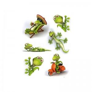 Etiquette Stickers magique HERMA Geckos