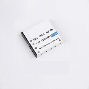 Batterie pour Appareil photo SONY NP-40 3.7v 1250 mah  -  Advanced Office