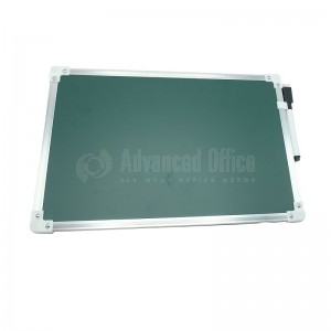 image. Ardoise GIXIME en Aluminium Double faces Uni/Quadrille Blanche  -  Advanced Office
