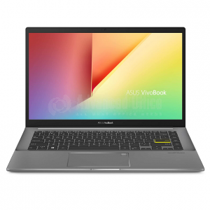 """Laptop ASUS VivoBook S14 S433FL-EB238T, Intel Core I5-10210U, 8Go DDR4, 512Go SSD M.2 NVMe PCIe 3.0, NVIDIA GeForce MX250 2Go GDDR5, 14"""", Windows 10, Indie Black avec Sacoche  -  Advanced Office Algérie"""