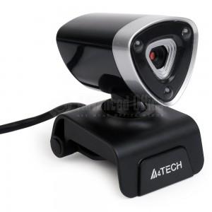 Webcam A4TECH, 1080P Full HD 16Mp, Microphone, Noir