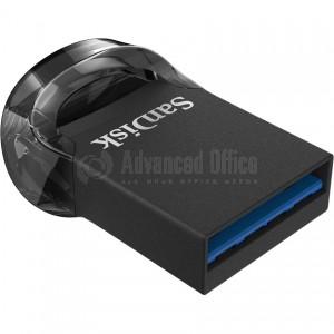 Flash disque SANDISK Ultra Fit 16Go USB 3.1, Noir  -  Advanced Office Algérie