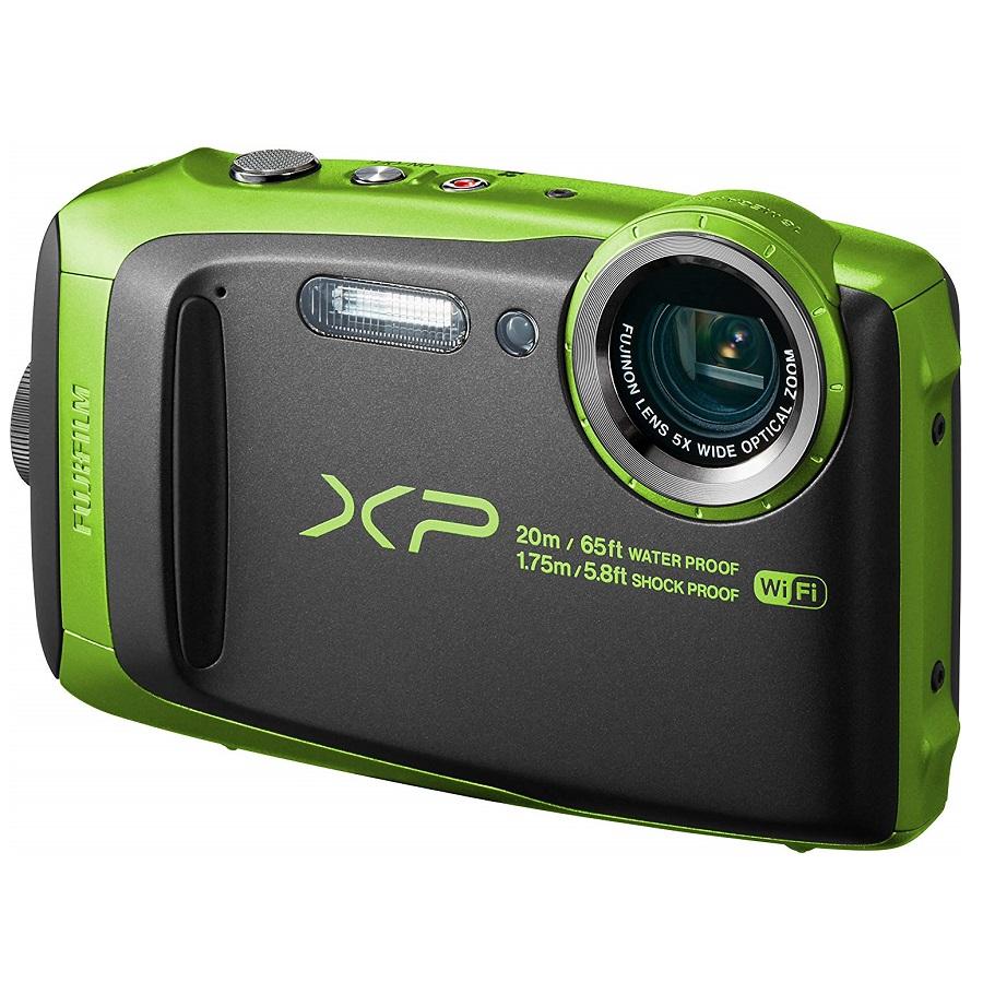 Appareil photo numérique FUJIFILM Finepix XP120 16.4 MP, Wifi, Waterproof, Zoom Optique 5x, Vert lim