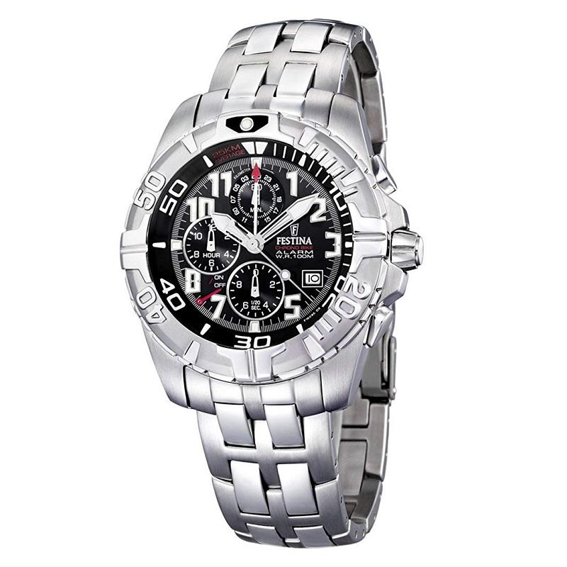 Montre chronographe pour Hommes FESTINA F16095/5 Bracelet Argenté