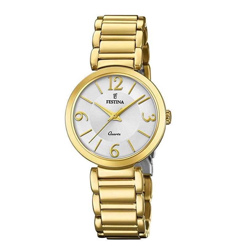 Montre pour femme FESTINA 20214 Bracelet Doré
