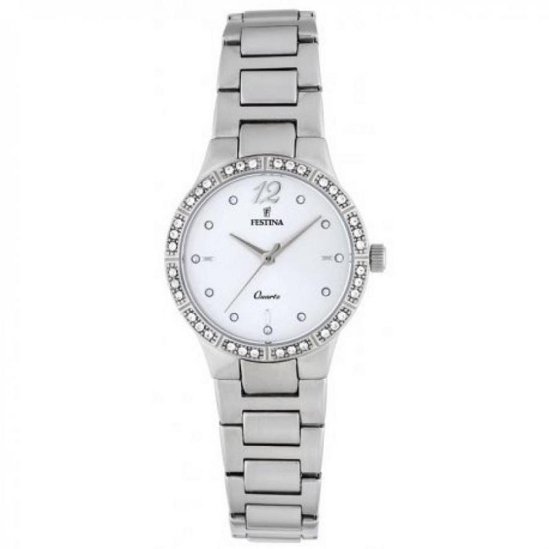 Montre pour Femmes FESTINA Mademoiselle F20240 Bracelet Argenté