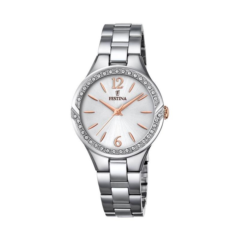 Montre pour Femmes FESTINA Mademoiselle F20246 Bracelet Argenté