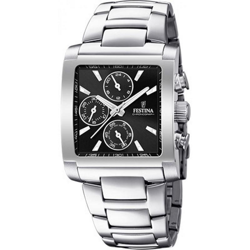 Montre chronographe pour homme FESTINA F20423 Bracelet Argente
