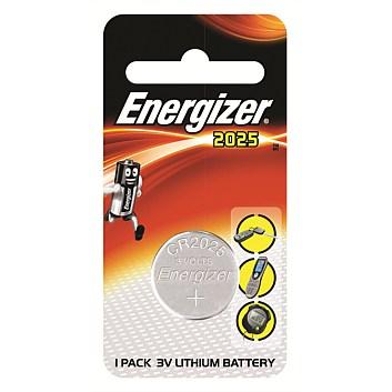 Pile ENERGIZER CR2025