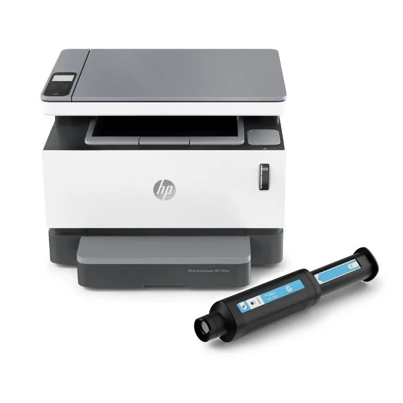 Imprimante Multifonction Laser HP Neverstop 1200a, Monochrome, A4, 20ppm, USB, Compatible HP Smart App avec toner 5 000 pages préinstallé