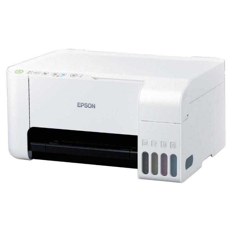 EPSON EcoTank L3116 Multifonction Jet d'encre, Couleur, A4, 33ppm/15ppm, USB, Blanc