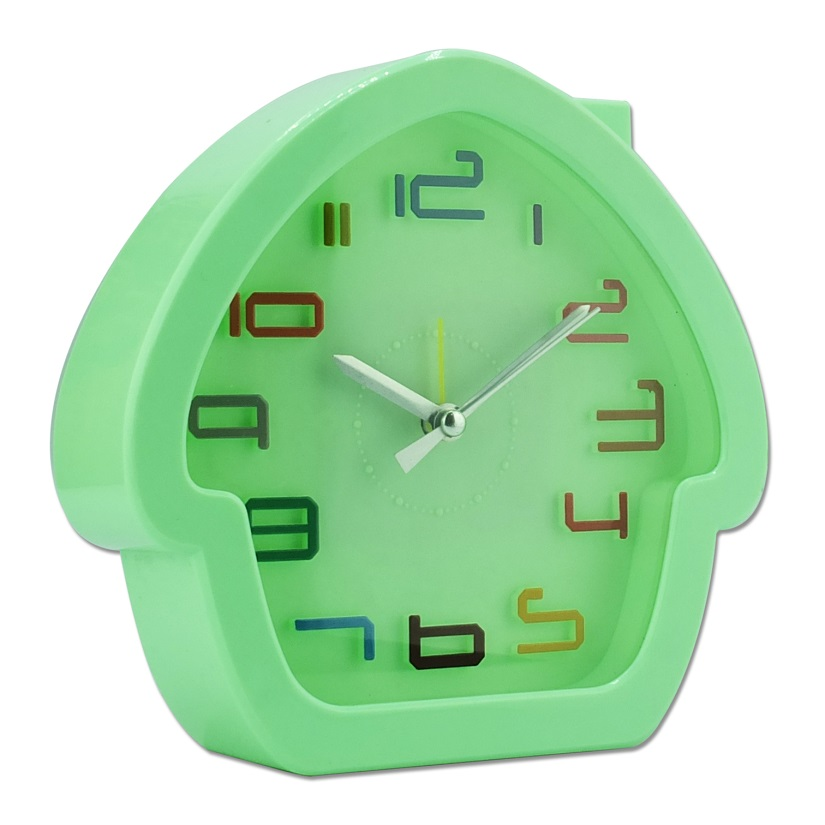 Mini Horloge mural enfant forme Maison