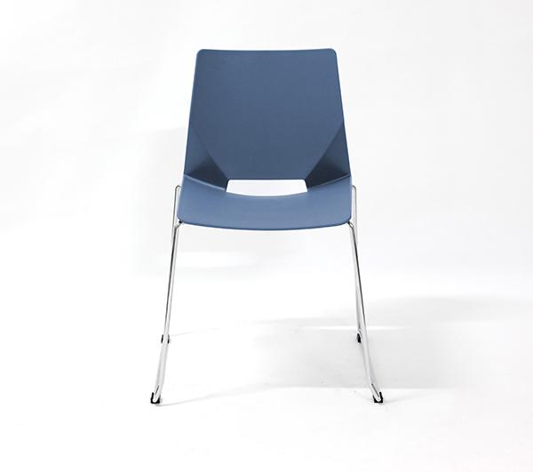 Chaise visiteur MODUS Luge sans accoudoir Série HF, Turquois