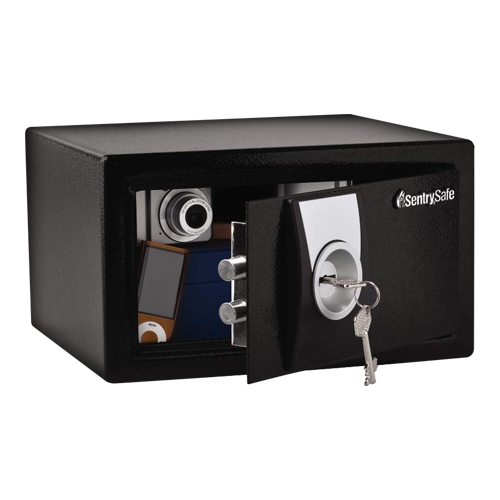 Coffre fort SENTRY SAFE à clé X031 16.7x29.0x26.4Cm 9.9L