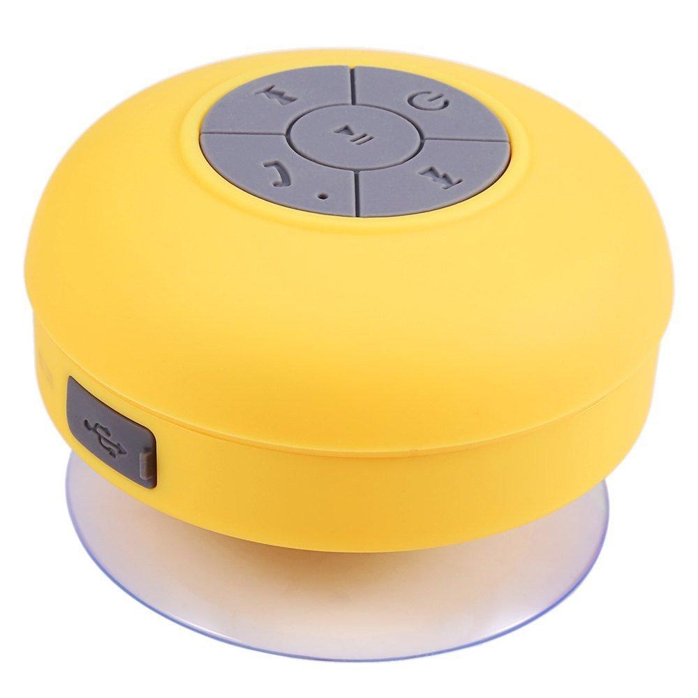 Haut parleur bluetooth PIXNOR BTS-06, ventouse, waterproof, multi couleurs