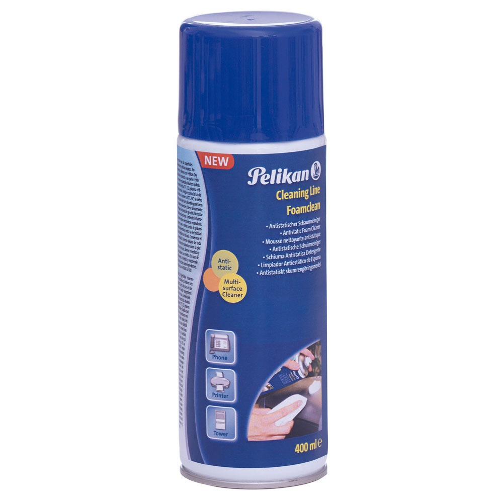 Mousse nettoyante antistatique PELIKAN 400ml