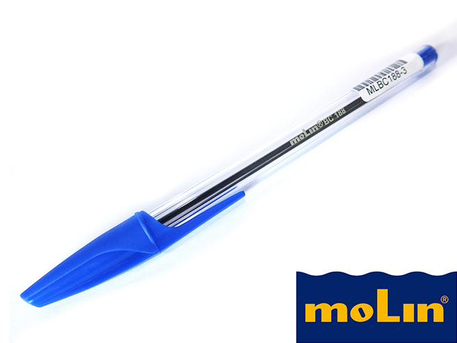 Stylo à bille MOLIN BC-188 Bleu