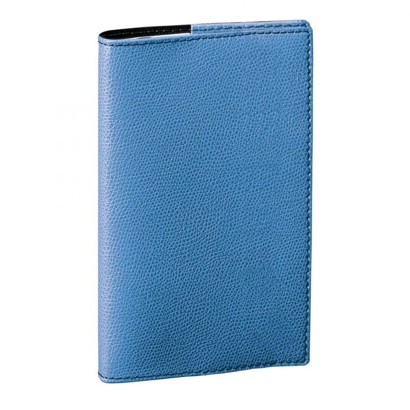Porte cartes de visite bleu