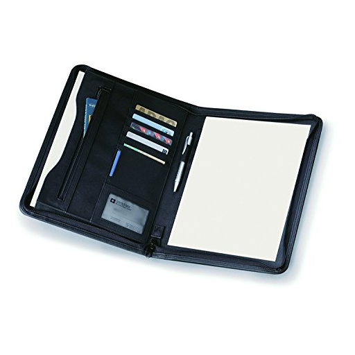 Porte folio A4 avec cache et bloc note VERTEX V-8753