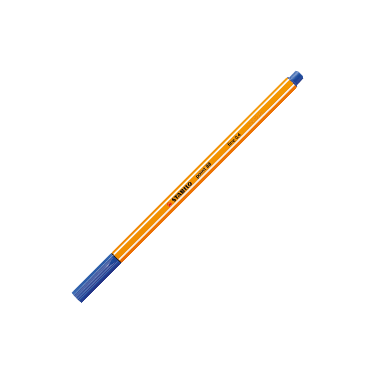 Stylo STABILO Point 88 Fine bleu