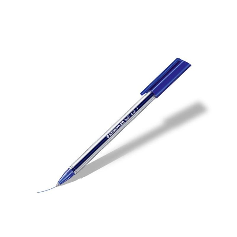 Stylo STAEDTLER Stick 432M bleu