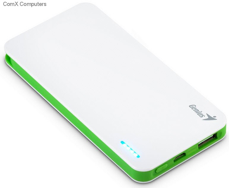 Power Bank GENIUS ECO-U306 3000 mAh Blanc
