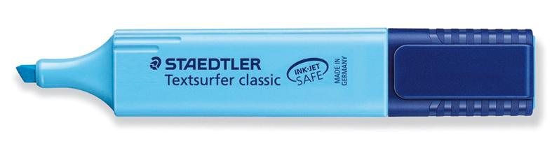 Marqueur fluorescent STAEDTLER Bleu Turquoise