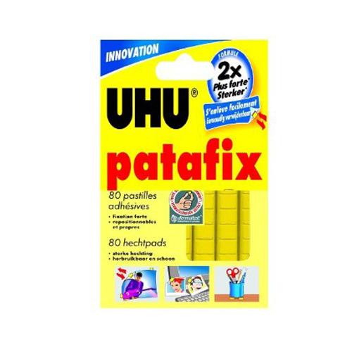 Colle UHU Patafix 80 pastilles
