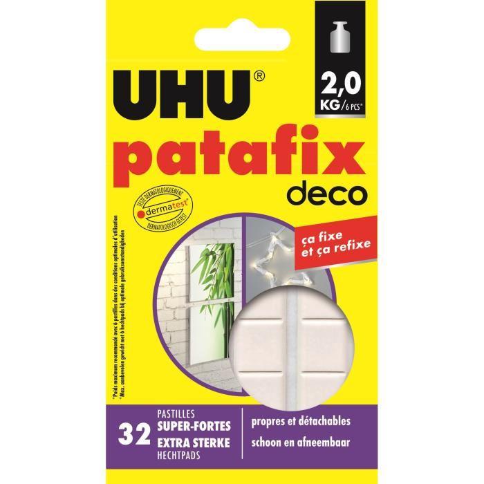 Colle UHU Patafix home deco 32 pastilles
