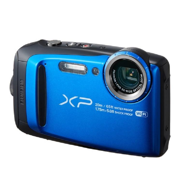 Appareil photo numérique FUJIFILM Finepix XP120 16.4 MP, Wifi, Waterproof, Zoom Optique 5x, Bleu marin