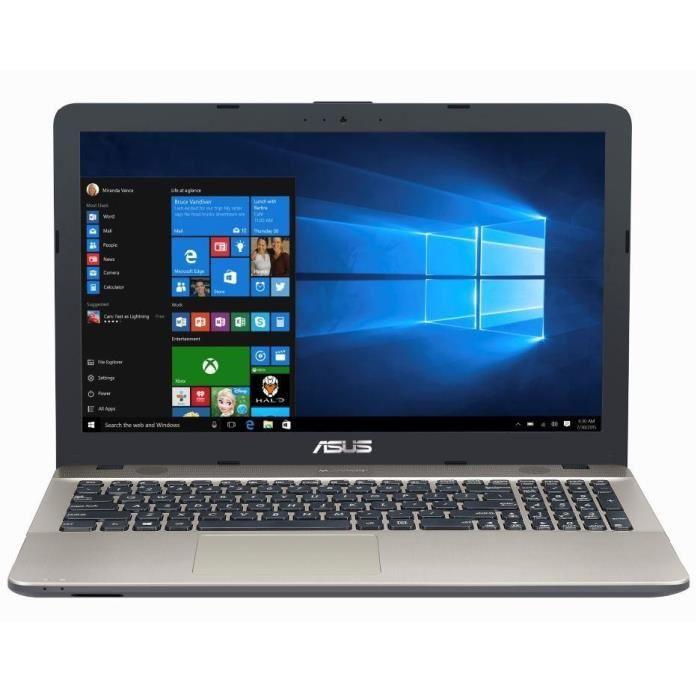Laptop ASUS VivoBook Max X541SA, Intel Celeron N3060, 2Go, 500Go, 15.6