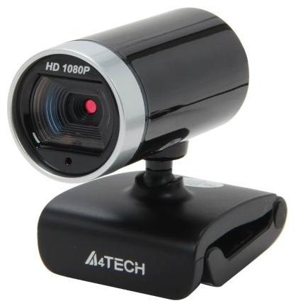 Webcam A4TECH 1080P, Microphone ,USB, 16 Mp, Noir